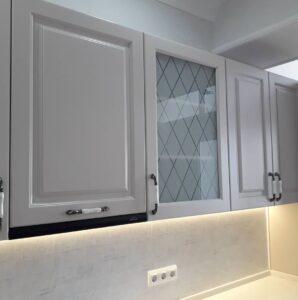 кухня с крашенными фасадами от производителя
