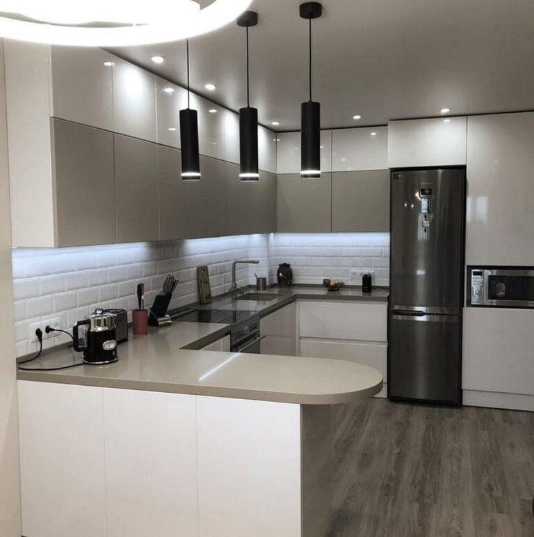 кухня до потолка на заказ