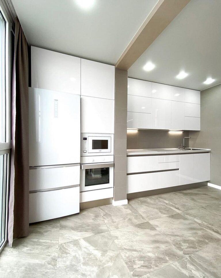 белая кухня от производителя