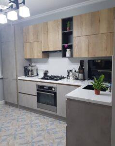 кухня шпон под заказ Киев